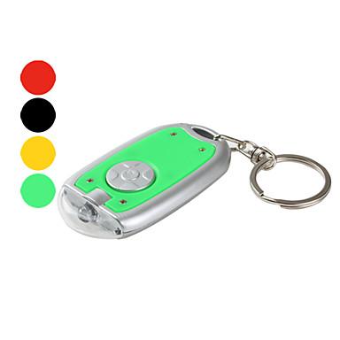플라스틱 키 체인 LED 손전등 (여러 색)