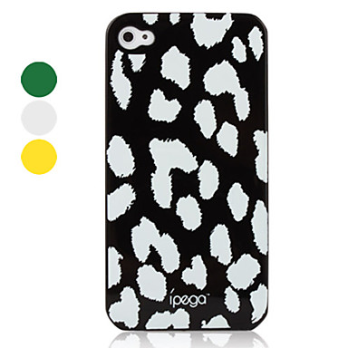 Genuine iPega Leopard Skin Style Case for iPhone 4/4S (Assorted Colors)