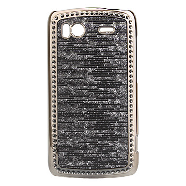 Shining Electroplating Protective Case for HTC Sensation (Silver-gray)