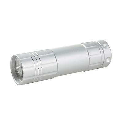 LED Flashlights/Torch / Handheld Flashlights/Torch LED 1 Mode 50 Lumens Others AAA Others , Orange / White Aluminum alloy