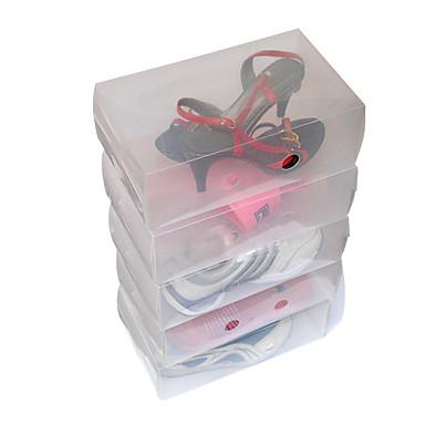 middle-size transparante schoen geval