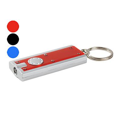 플라스틱 슬림 키 체인 LED 손전등 (여러 색)