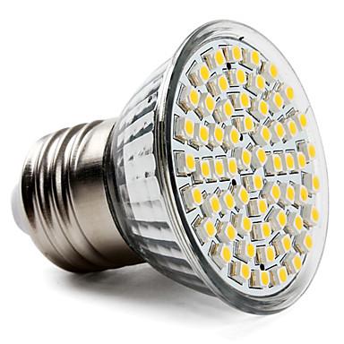 3.5W 300-350 lm E26/E27 LED-spotpærer PAR38 60 leds SMD 3528 Varm hvit AC 220-240V