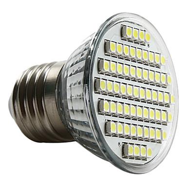 3W 6000 lm E26/E27 LED Spotlight MR16 60 leds SMD 3528 Natural White AC 220-240V
