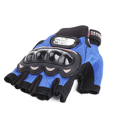 Half Finger Motorbikes Gloves with Wrist Protection