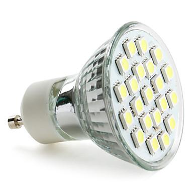 3W 6000 lm GU10 Lâmpadas de Foco de LED MR16 21 leds SMD 5050 Branco Natural AC 220-240V