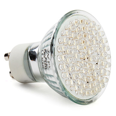 390 lm GU10 LED Spotlight MR16 78 leds High Power LED Warm White AC 220-240V