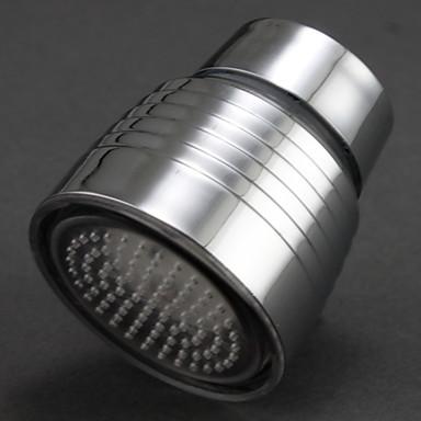 cool färg förändras krom ledde kran pipen ljus (manliga, 2 adaptrar)