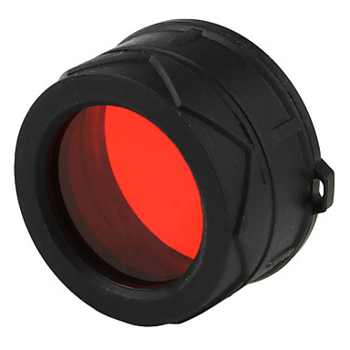 JETBeam 1 inch Diameter Red Flashlight Filter for 3M C25 RRT2 RRT21 PC25