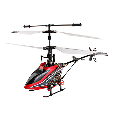 502A F-Series 4-Channel Alloy Structure Remote Control Helicopter with Gyro (Red)
