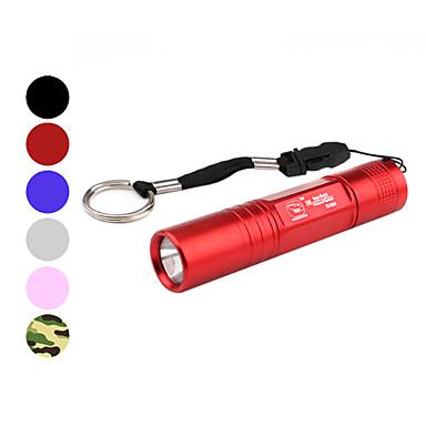 Torce LED / Torce (Impermeabili / Ultraleggero / Compatta / Taglia piccola) - LED 1 Modo Lumens AA Altro Batteria Smiling Shark