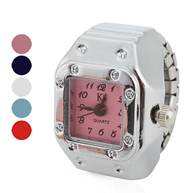 Kadın's Quartz Yüzük Saat Japonca Gündelik Saatler Alaşım Bant Vintage / Moda Gümüş