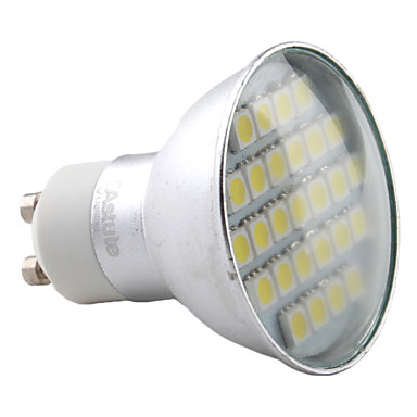 Focos MR16 GU10 4.0 W 27 SMD 5050 280 LM Blanco Natural AC 100-240 V
