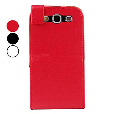 litsi kuvio pu nahkakotelo Samsung Galaxy S3 i9300 (moniväri)