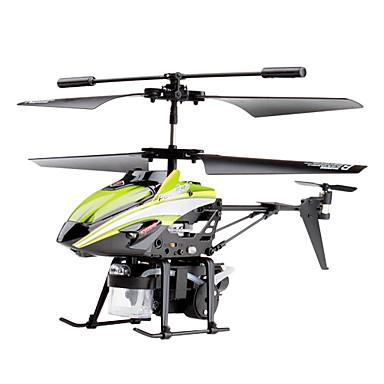 v757 3-kanavainen gyro kaukosäädin helikopteri saippualla pallo ase