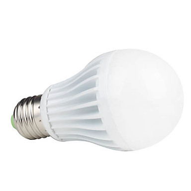 E26/E27 5 W 5 High Power LED 450 LM Natural White A60(A19) Globe Bulbs AC 85-265 V