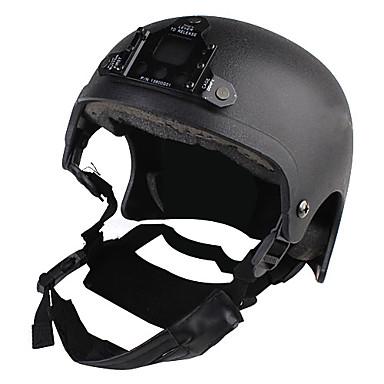 War Game or Motorcycle Helmet with Lighting Mount holder