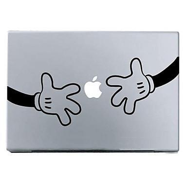 1 parça için Çizilmeye Dayanıklı Karton Tema MacBook Pro 13 ''