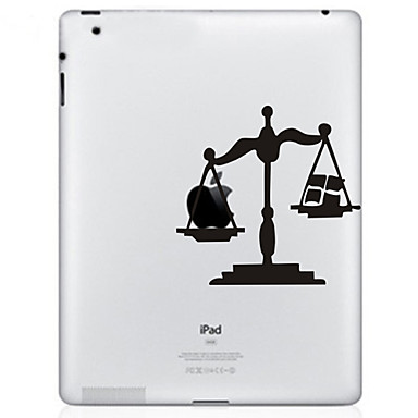 etiqueta escala padrão de proteção para o novo iPad e iPad 2