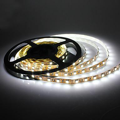 5m 14W 300x5050 smd hvitt lys LED strip lampe (dc 12v)