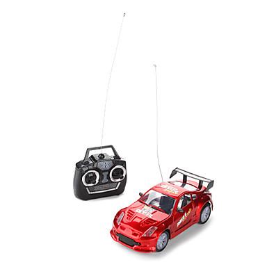 1:24 radio voiture de course (gris / rouge)