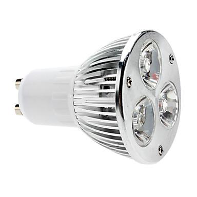 5W GU10 Spot LED MR16 3 COB 310 lm Blanc Chaud Gradable AC 100-240 V