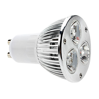 5W GU10 Żarówki punktowe LED MR16 3 COB 310 lm Ciepła biel Ściemniana AC 220-240 V