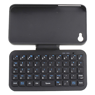 QWERTY Bluetooth Keyboard with Case for iPhone 4 and 4S