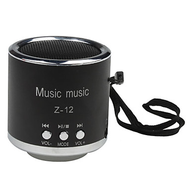 Mini Portable Music Player Speaker (Support TF Card, USB Disk)
