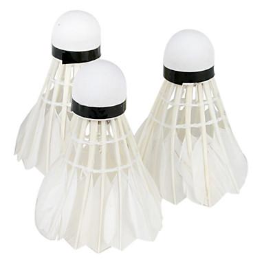 Badminton com cilindro transparente (3pcs)