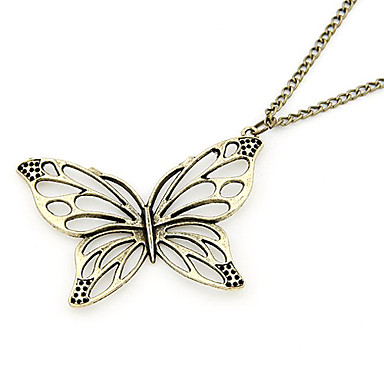 Jewelry Pendant Necklaces / Vintage Necklaces Daily Alloy Women Bronze Wedding Gifts