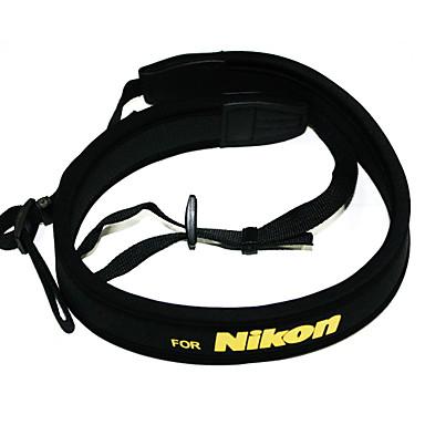 nikon d5000 D5100 D90 d80 D70 D3100 D700 D7000 için neopren kamera boyun askısı