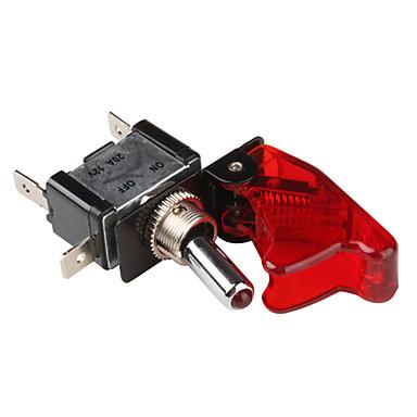 赤色LEDインジケータ(車のDIY)と亜アーミング·スイッチカバー·フリップ