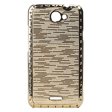 Metal Surface Hard Case for HTC One X S720e (Assorted Colors)