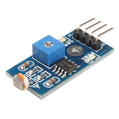 6495 fotoresistor Módulo sensor de luz para o carro Smart (Black & Blue)
