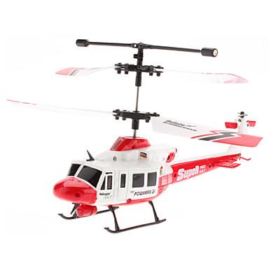 3,5-Channle Gyro fjärrkontroll helikopter (Gul, Modell: U806)