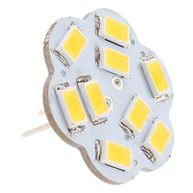 2.5W 3000lm G4 LED Bi-pin Lights 9 LED Beads SMD 5630 Warm White 12V
