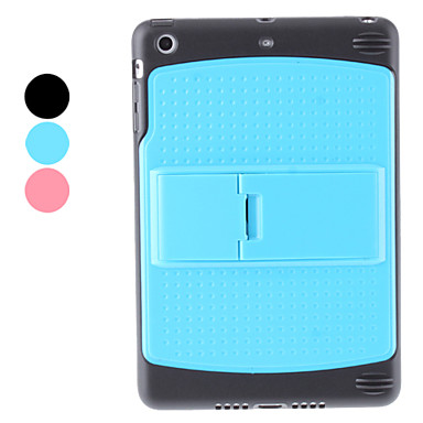 Special Design TPU Case with Stand for iPad mini (Assorted Colors)