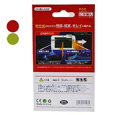 Protector de pantalla con un paño de limpieza para 3DS XL (colores surtidos)