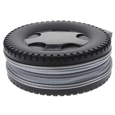 bolsa de neumático de coche de diseño 40pcs cd de almacenamiento de soporte (color al azar)