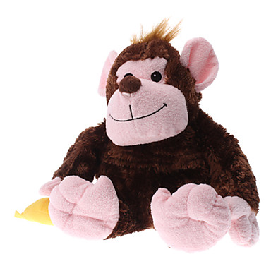 Cute Animal Monkey Style Massager with Hot or Cold Therapy (2 x AA)