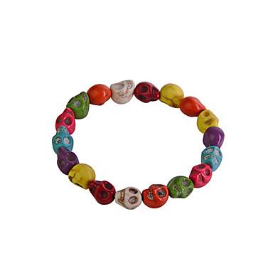 Dames Schedel Strand Armbanden - Regenboog Armbanden Voor Feest Dagelijks Causaal