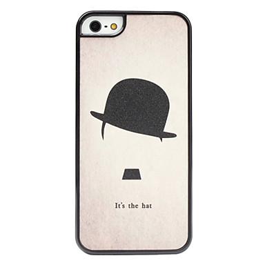 chapéu caso difícil padrão rodada para o iphone 5/5s
