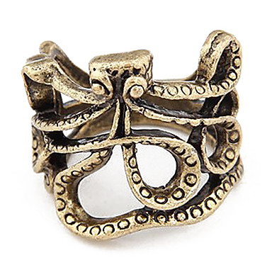 Retro Octopus Rings
