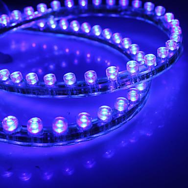 Imperméable 48cm 48-LED Light Blue LED Strip pour voiture (12V)