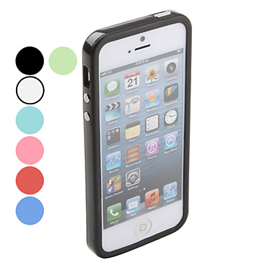 Solid Color Bumper Case for iPhone 5/5S (Assorted Colors)