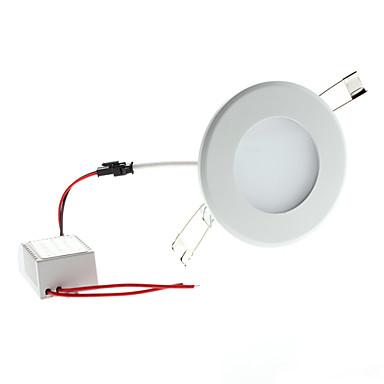6w 650-700lm 3000-3500K sıcak beyaz ışık yuvarlak led tavan ampul (85-265V)