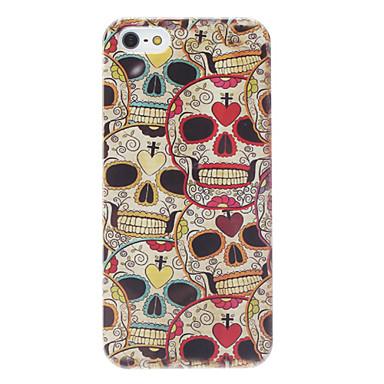 cráneos coloridos modela el caso duro para el iphone 5/5s