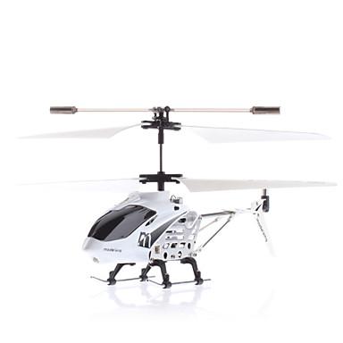 Taille de palme 3 canaux i-hélicoptère avec la lumière de contrôle (Blanc, Modèle: 33005)