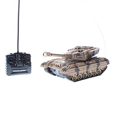 Beige Remote Control Bettle Tank (Model: 5895)
